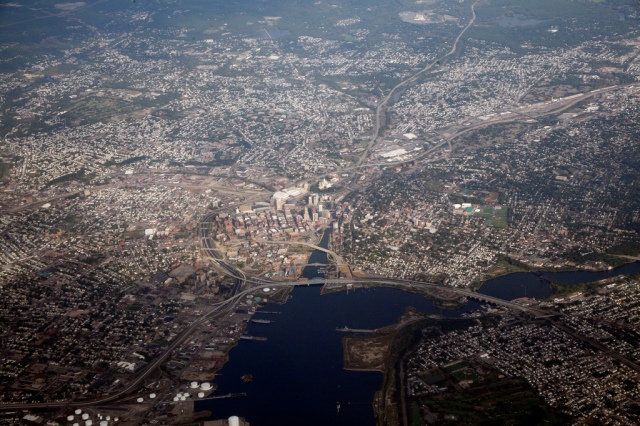 Aerial Shot of Providence