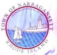 Center of Narragansett's Flag