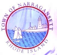 Center of Narragansett's Flag