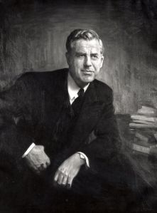 Vice President Henry Wallace, Progressive Party nominee for President, 1948