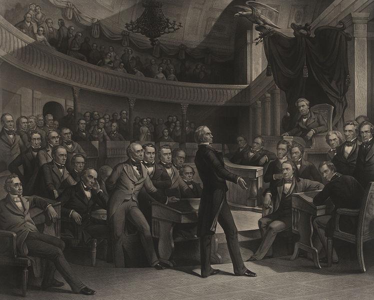 The United States Senate, AD 1850