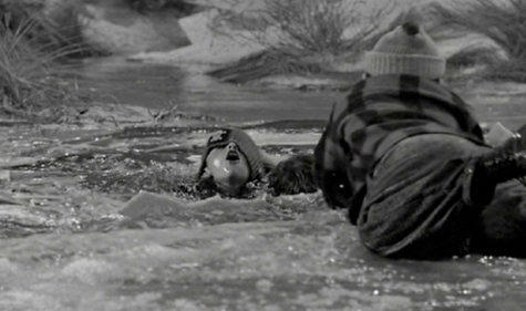 """Screen capture from """"It's A Wonderful Life"""""""