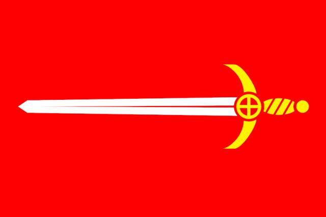 Armorial Flag of Barrington
