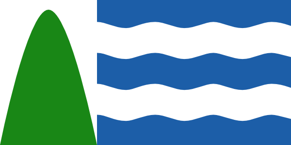 Flag of Bristol Design based on Correct Arms