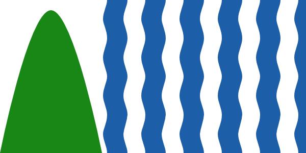 Flag of Bristol Design based on Correct Arms Variant 1