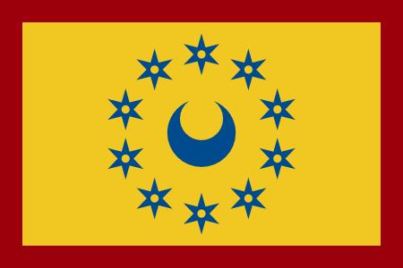 Flag of Burrillville Stars and Border