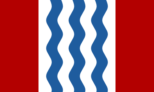 Flag of Central Falls Arms