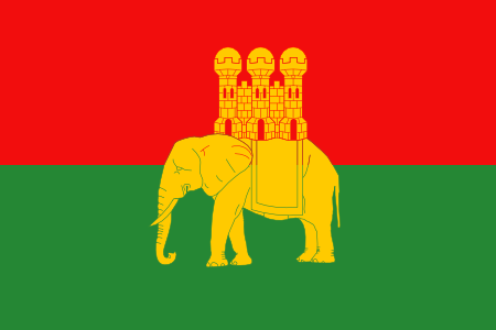 Flag of Coventry Elephant and Castle