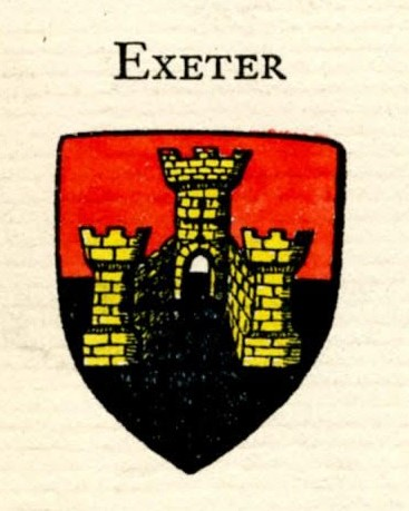Cost of Arms of Exeter