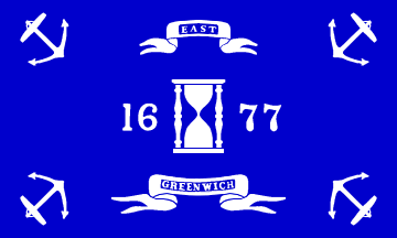 Current Flag of East Greenwich