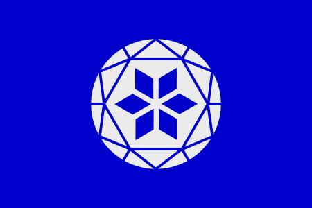 Flag of Cumberland Stone Emblem