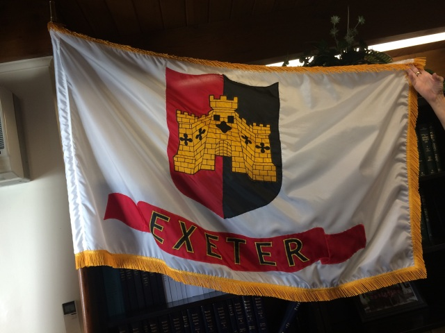 Flag of Exeter