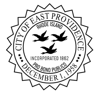 Seal of East Providence - Black and White