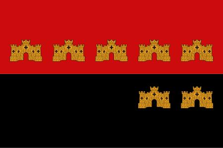 Castled Flag